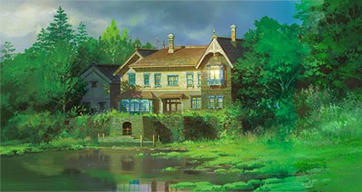 思い出のマーニー 屋敷