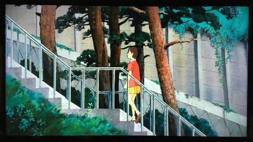耳をすませば聖蹟桜ヶ丘に実際にある松並木の階段
