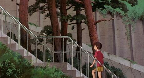 耳をすませばでは松の階段にもモデルがある