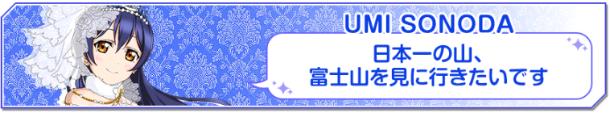 旅ガール投票 園田海未