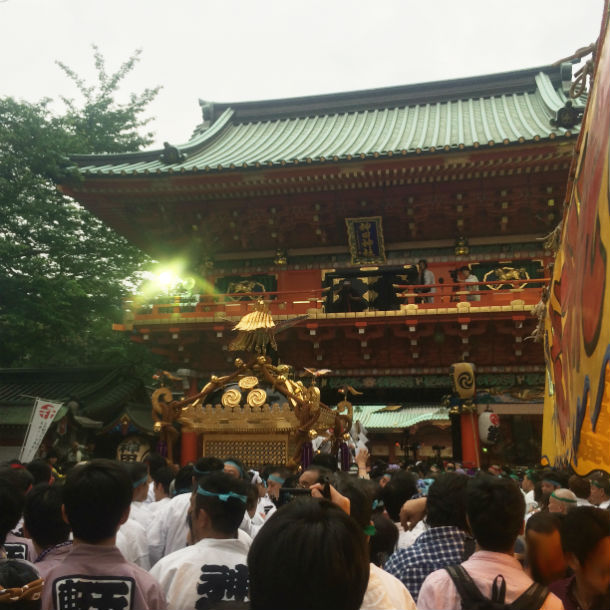 神田祭 宮入