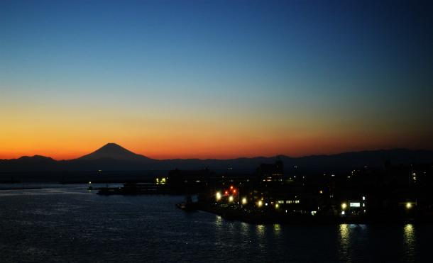 三崎港 城ケ島 夕陽