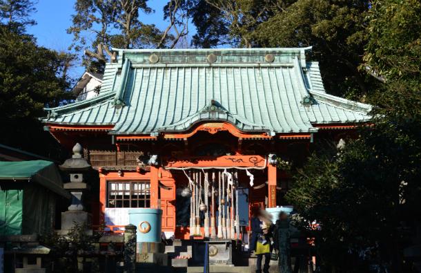 三崎港 海南神社