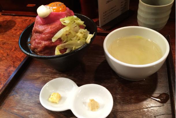 ローストビーフ丼 大野 秋葉原