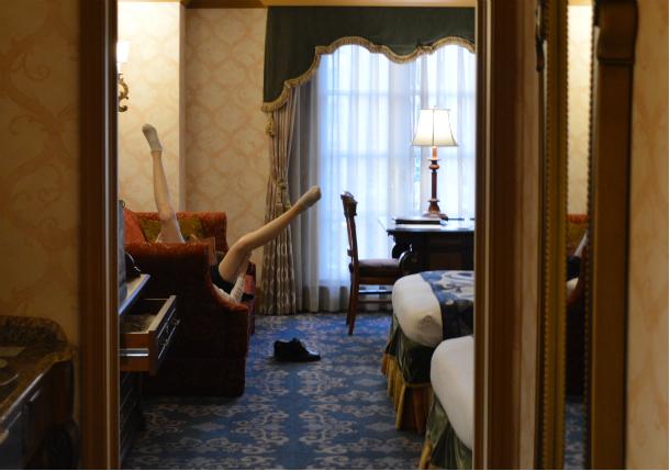 ミラコスタ ポルト・パラディーゾ・サイドスーペリアルーム ピアッツァグランドビュー 部屋の中