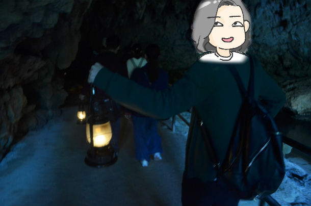 ガンガラーの谷 ツアー 洞窟