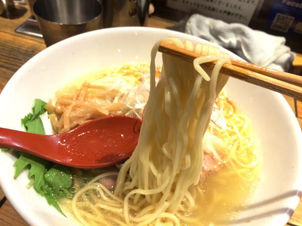 麺屋翔 特製塩ラーメン 細麺