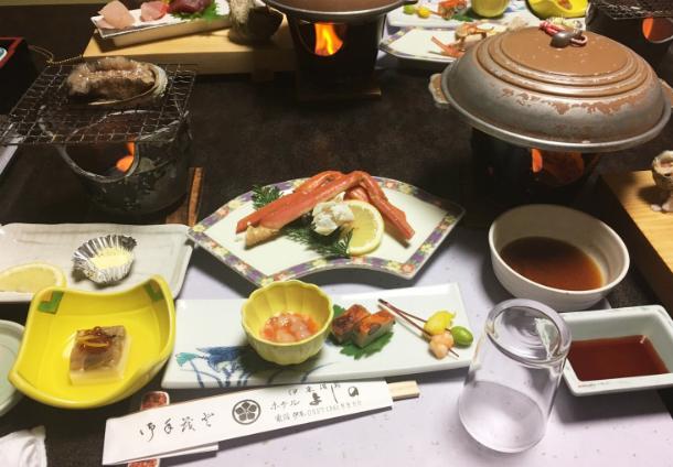 伊東温泉ホテルよしの 宿泊 食事