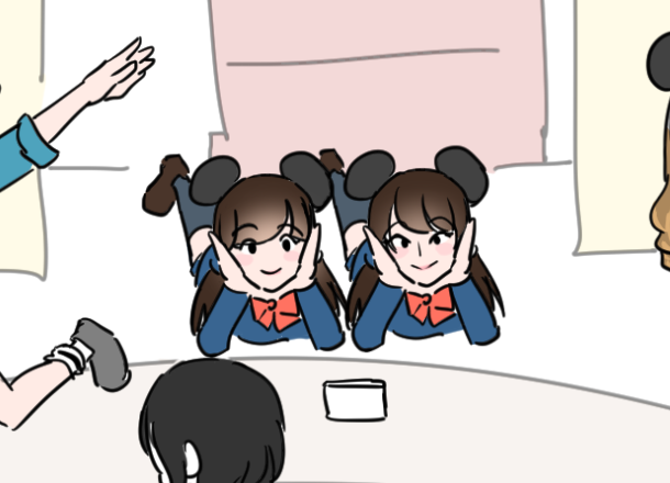 ディズニー双子コーデ