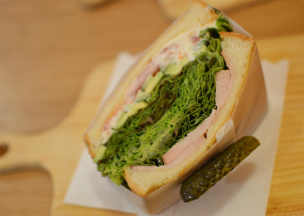noanopのサンドイッチが美味しい