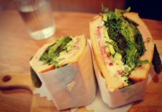 東十条カフェ「ノアノップ」サンドイッチ