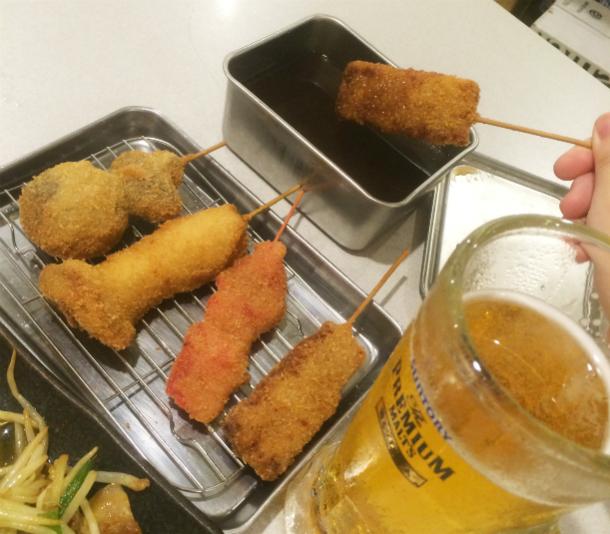 串カツ田中 ソース二度付け禁止