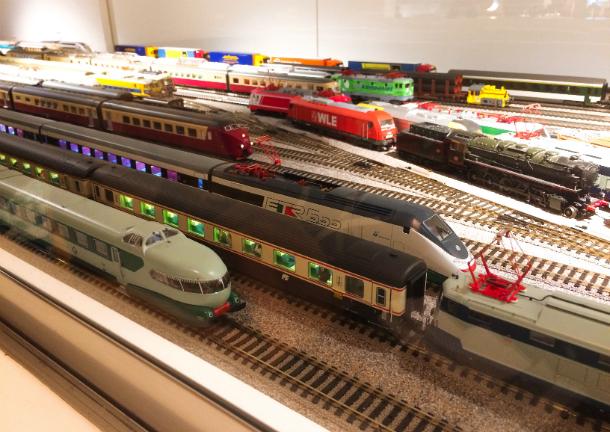 鉄道模型のあるカフェ 十条