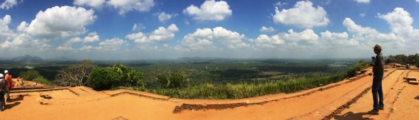 シーギリヤロックから見る絶景がまるで天空の城ラピュタの世界