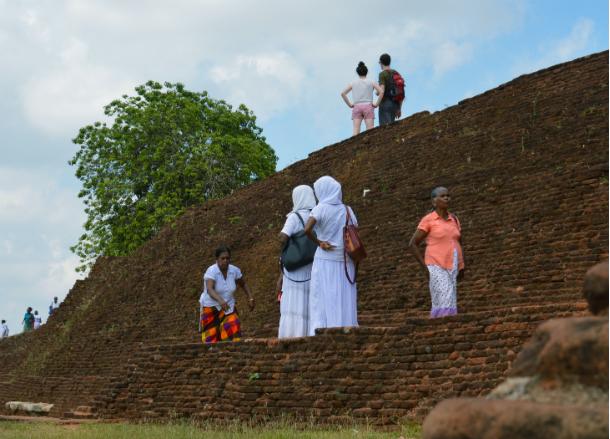 スリランカにある世界遺産シーギリヤロック