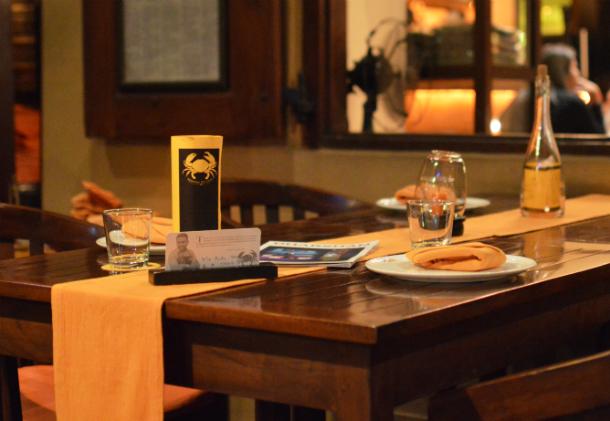 ミニストリーオブクラブはスリランカの首都コロンボにある蟹が有名なレストラン