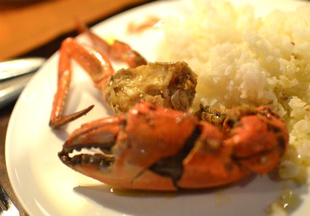 スリランカ産の大きくて美味しい蟹を食べるならミニストリーオブクラブ(ministry of crab)がおすすめ