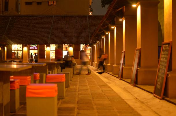 ダッチホスピタルはスリランカの首都コロンボにある商業施設
