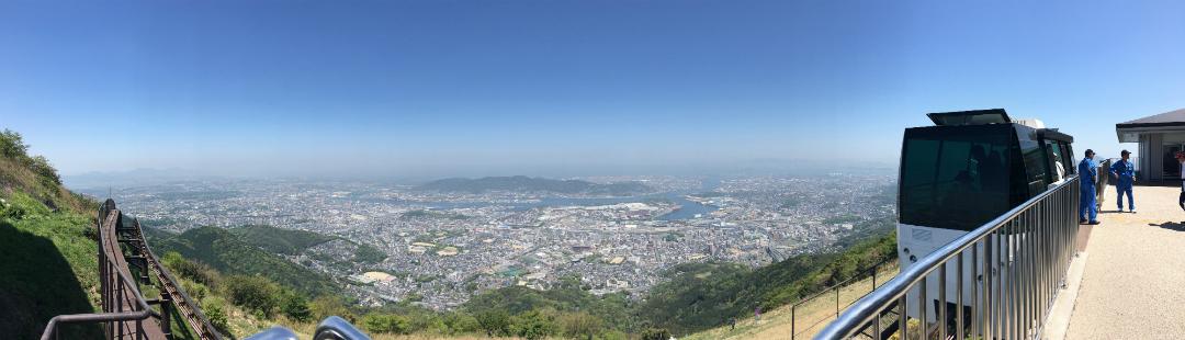 皿倉山パノラマ撮影