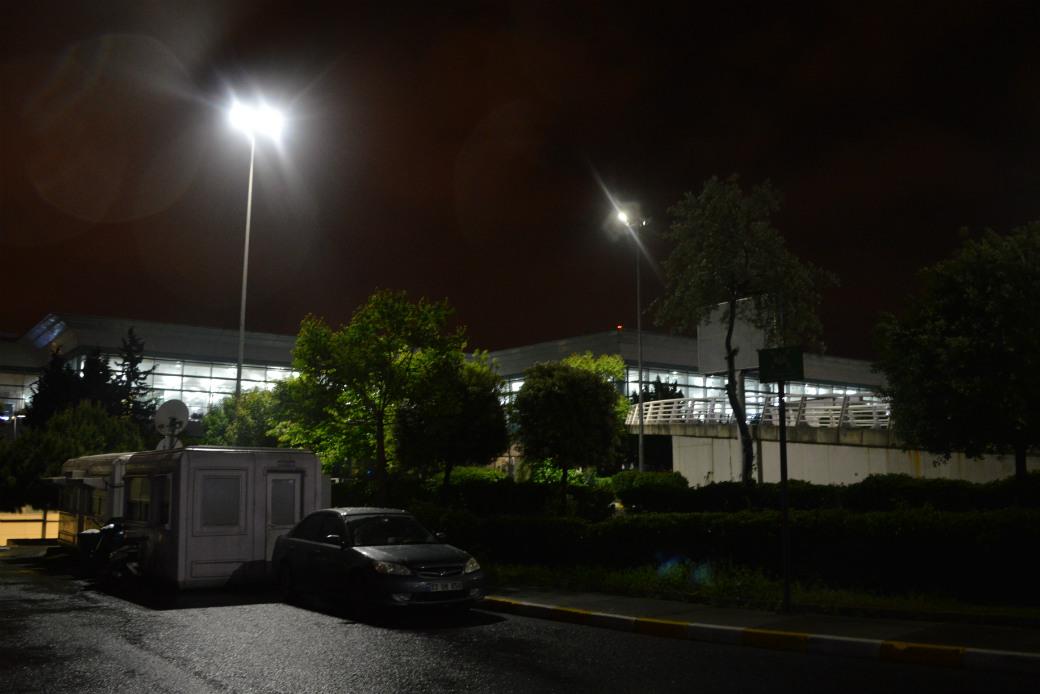 アタテュルク空港の駐車場