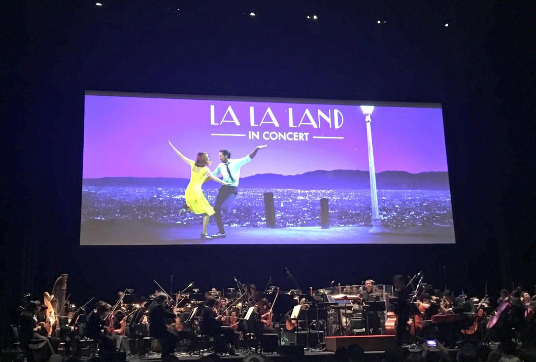 ラ・ラ・ランドinコンサート感想、初めてのシネマオーケストラ