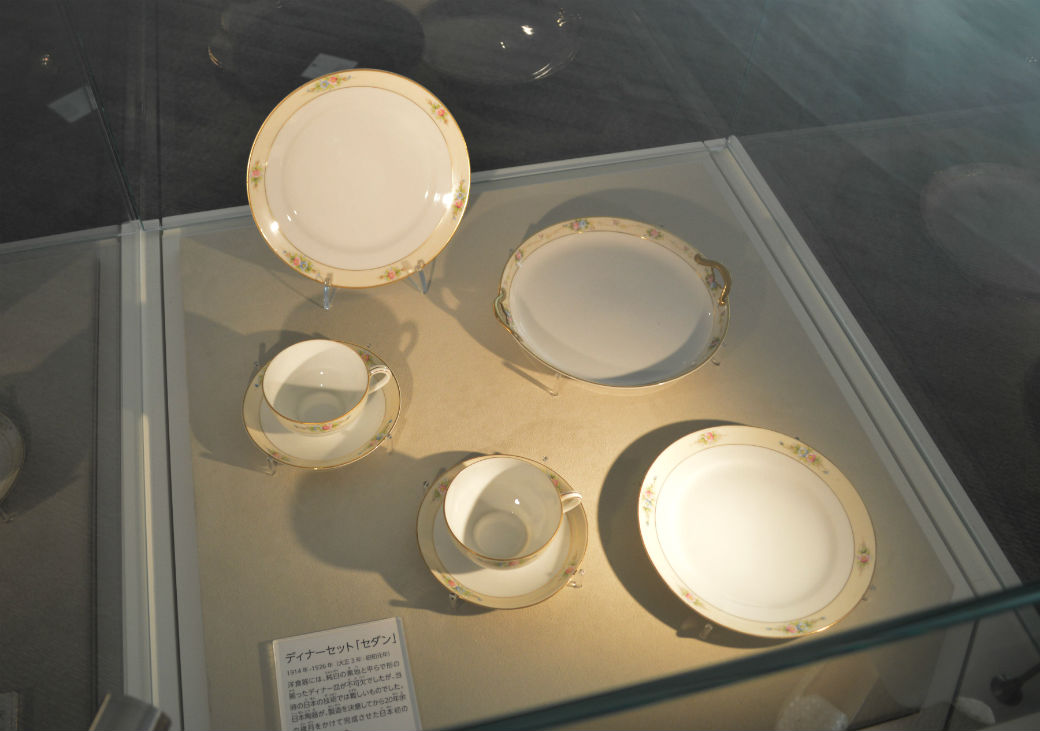 東洋陶器の食器たち