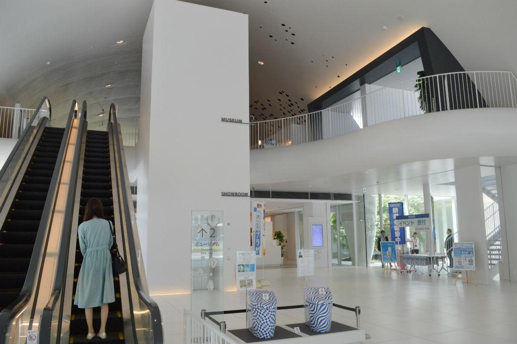 ミュージアムの見学は2階から始まる