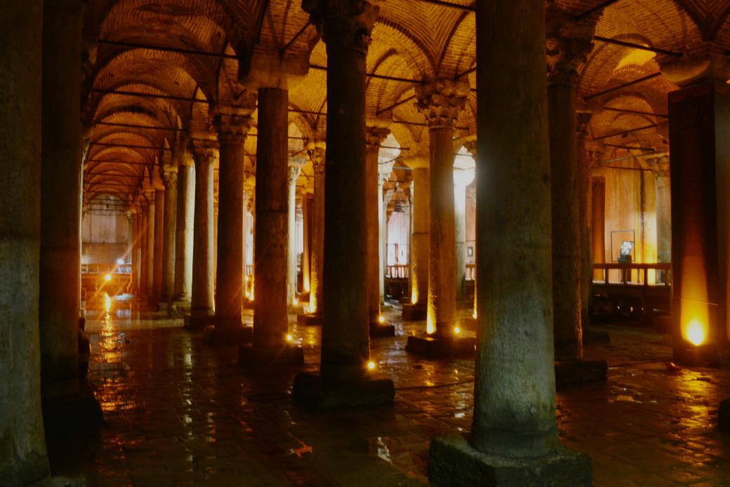 イスタンブールの地下宮殿