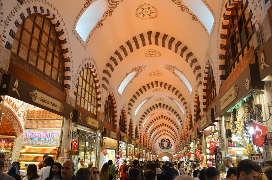 イスタンブールにあるエジプシャンバザール
