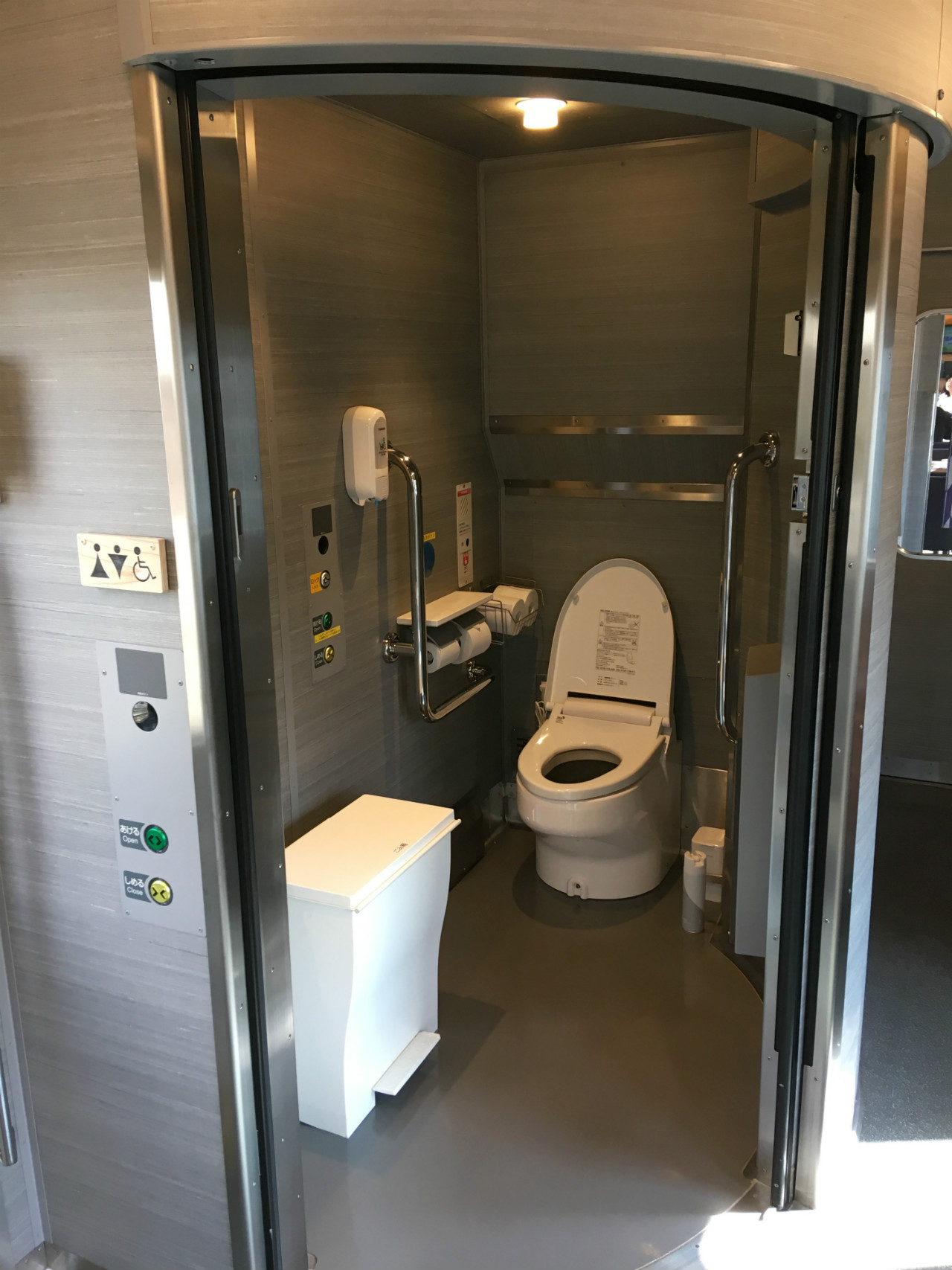52席の至福トイレも綺麗