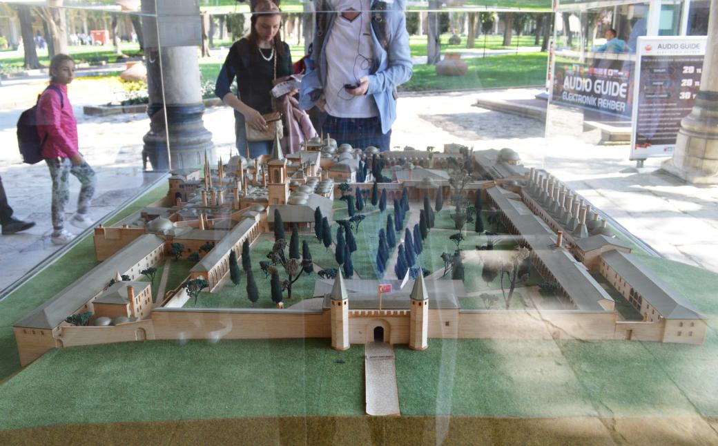 トプカプ宮殿の内部模型