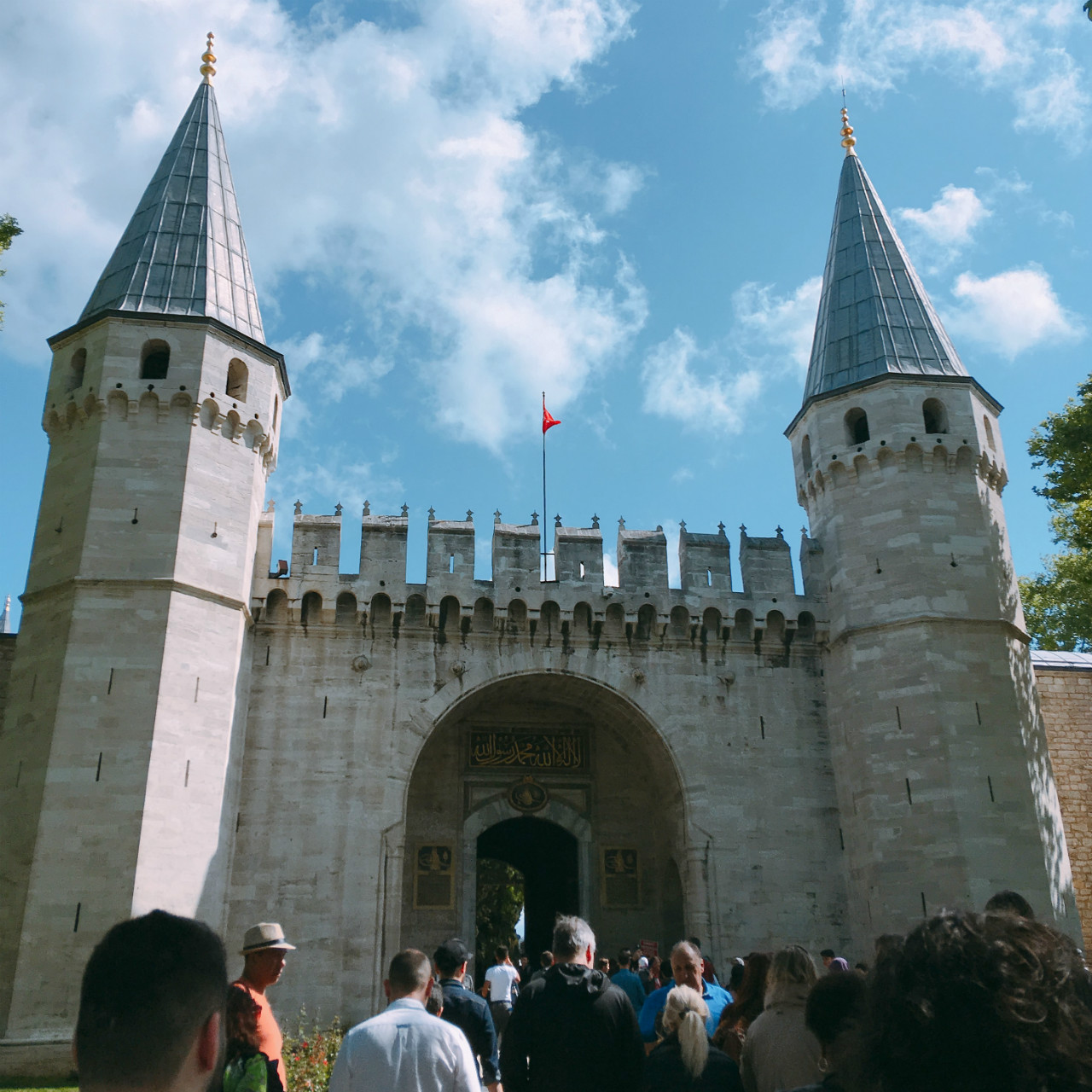 トプカプ宮殿ふたつめの門「挨拶の門」
