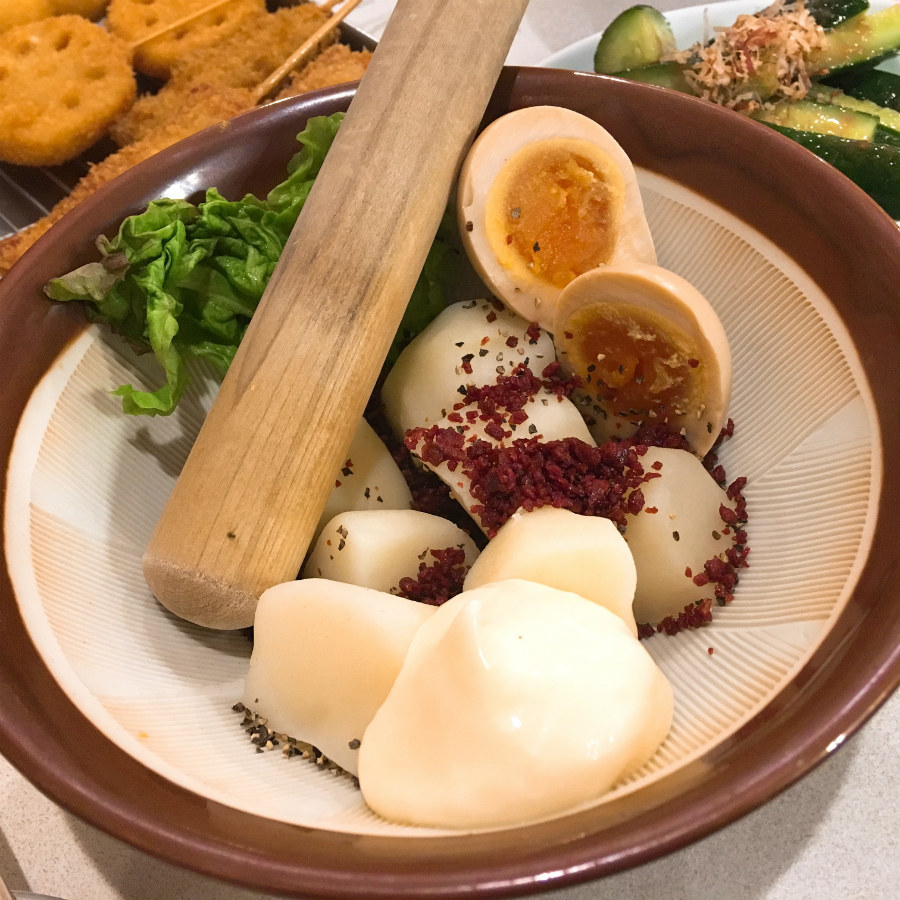 串カツ田中のポテトサラダ