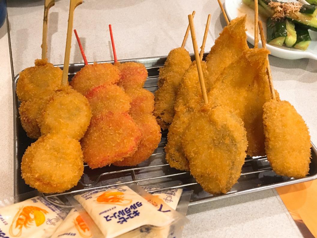 串カツ田中の食べ放題、魚を食べるべき