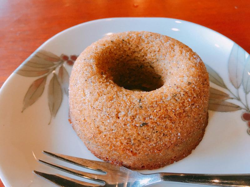 聖蹟桜ヶ丘の和桜で食べられる耳すまドーナツ