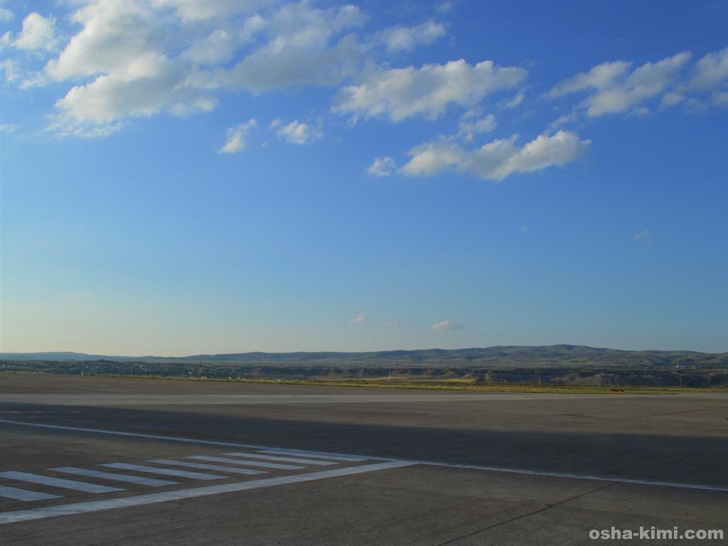 ネブシェヒル空港の景色