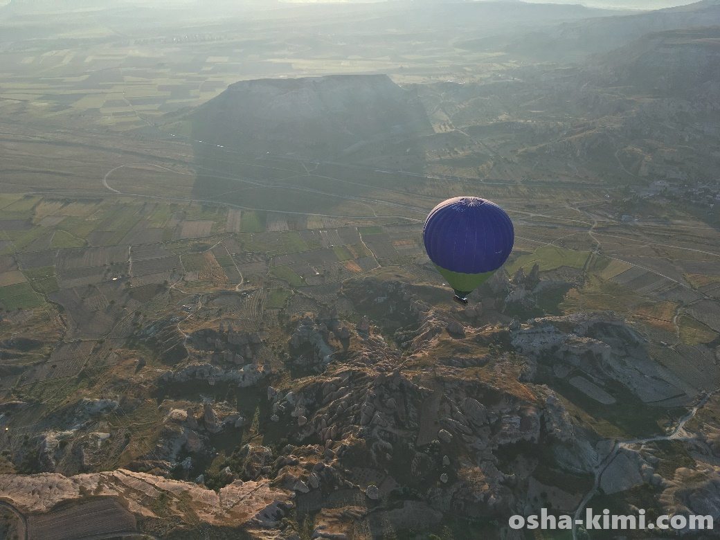 ぐんぐんのぼる気球