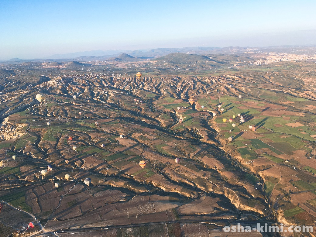 カッパドキアの地形