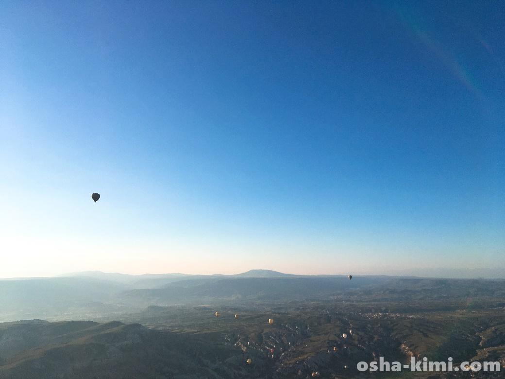 青い地球と空