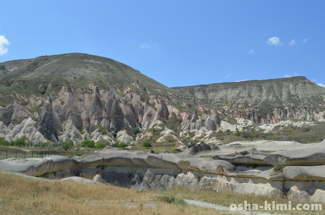 カッパドキアきのこ岩の赤ちゃん