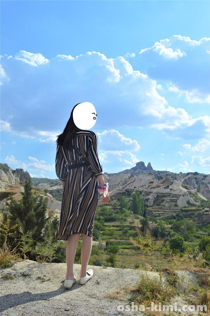 カッパドキア観光ウチヒサルの写真スポット