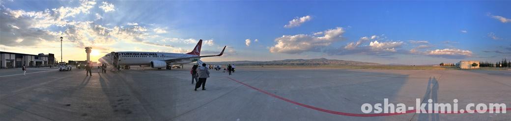 ネブシェヒル空港パノラマ撮影